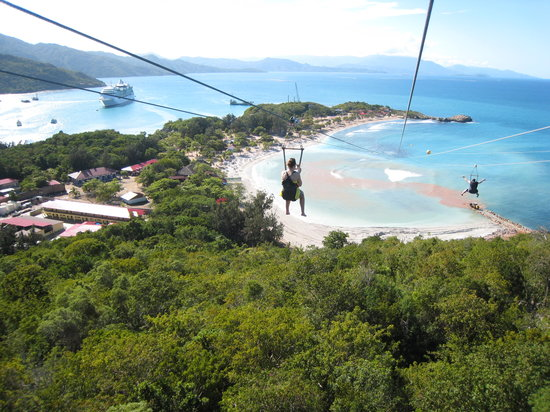 Dragon's Flight, Labadee, Haiti