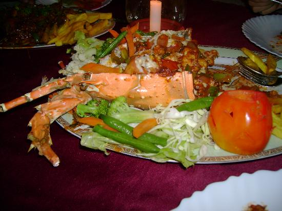 Sodder Gloria Anne Resort: chk out those lobsters made by d chef!