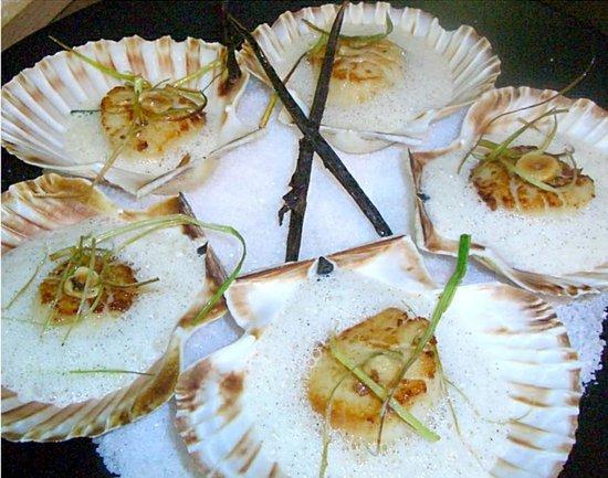 Restaurant Lamartine: des coquille saint jacque mmm