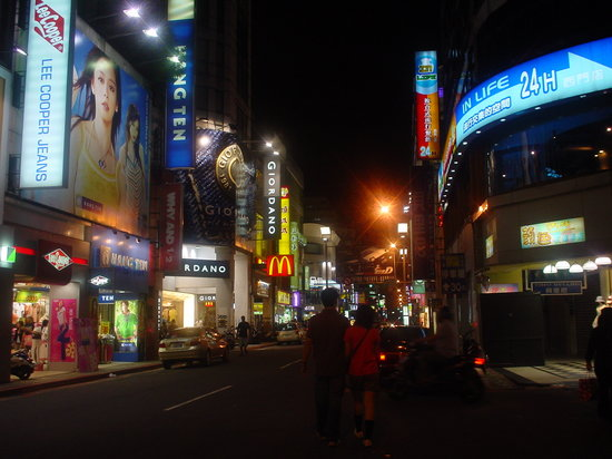 台北, 台湾, 街中