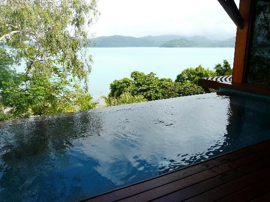 Qualia Resort : Private Plunge Pool View