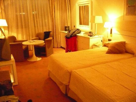Hotel Granada Center: stanza (vista ingresso)