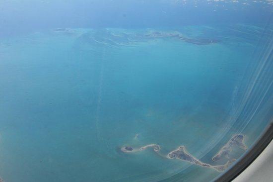 Iberostar Grand Hotel Bavaro : view from the airplane