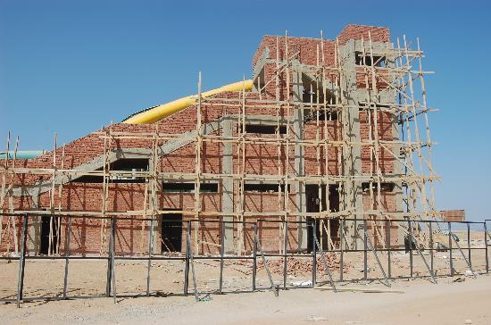 Tirana Aqua Park Resort: check out the brickwork.