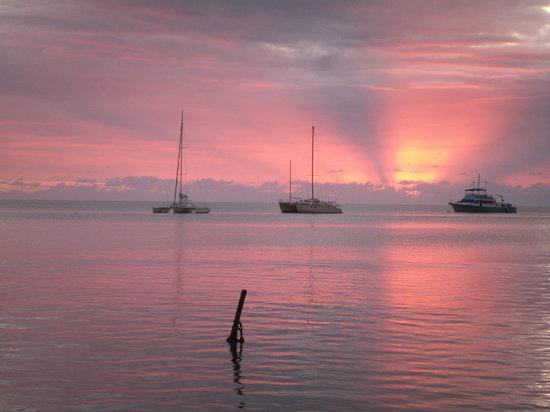 Puerto Rico: Puesta de sol en Boqueron