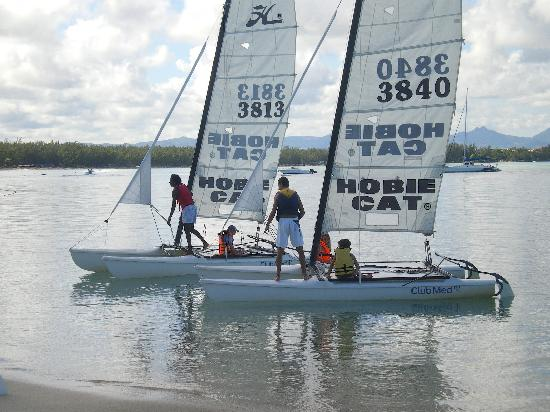 Club Med La Pointe aux Canonniers: Sailing in Mauritius