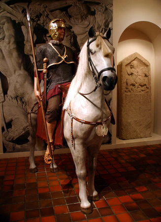 Roman cavalry rides into the Corinium Museum
