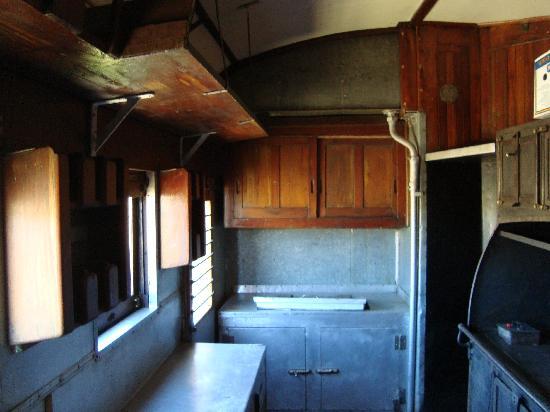 Tren Historico a Vapor Bariloche: antigüa cocina de época