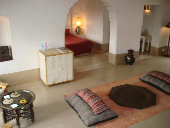 Relais & Chateaux Ksar Char-Bagh: Our Apartment
