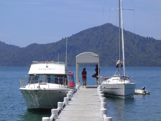 Raetihi Lodge: Which boat to take?