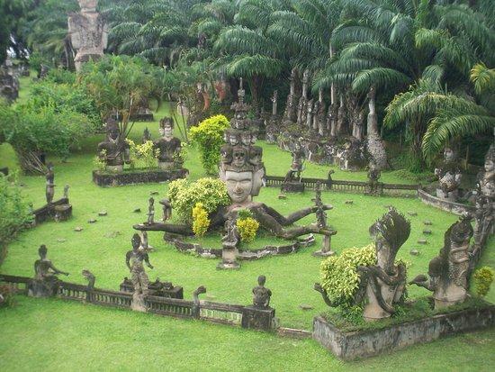 Buddha Park : パーク全景