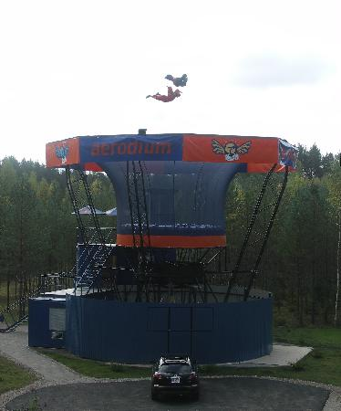 Sigulda, Latvia: Who say human can`t fly?