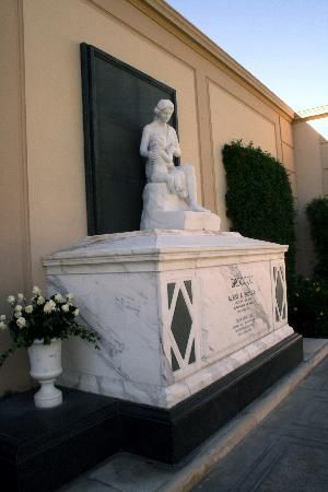 Forest Lawn Memorial Park - Hollywood Hills: Tomb of Albert (James Bond producer) Broccoli