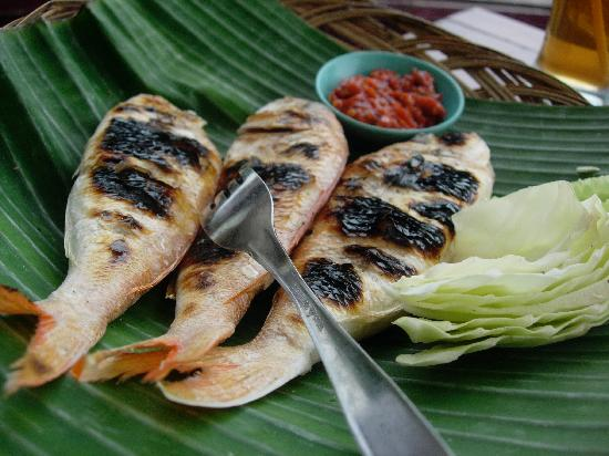 Bangka Island, Indonesia: terisi fish
