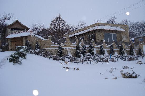 Rezina, มอลโดวา: winter hanul lui hanganu