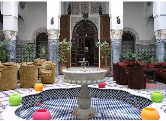 Riad El Yacout: Lobby at el Yacout
