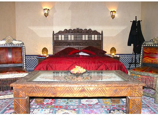 Our room in Riad El Yacout