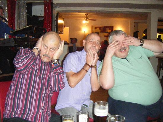 Seagrove Hotel: some of the men