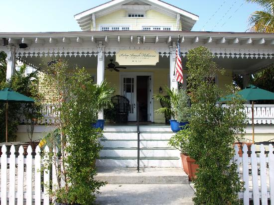 Palm Beach Hibiscus: The Front of Hibiscus House
