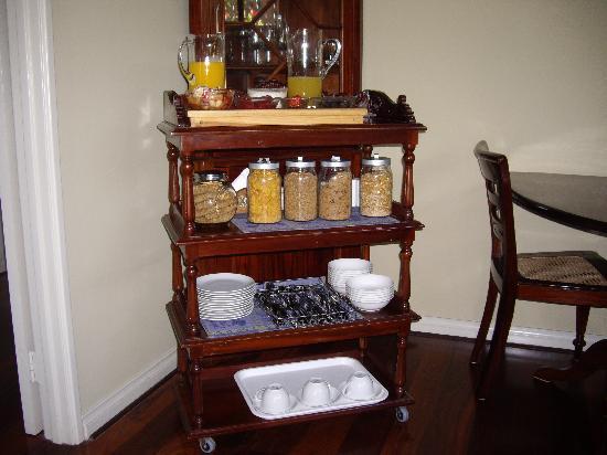 Trigg Retreat Bed & Breakfast : Continental Breakfast