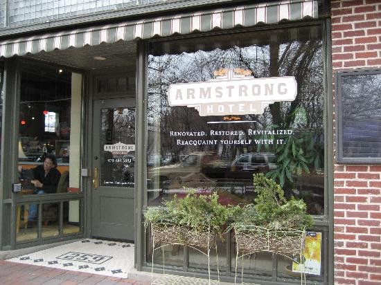 The Armstrong Hotel Exterior Of