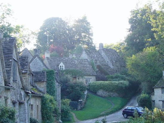 Bibury, UK: Biburyのよく紹介されている家々