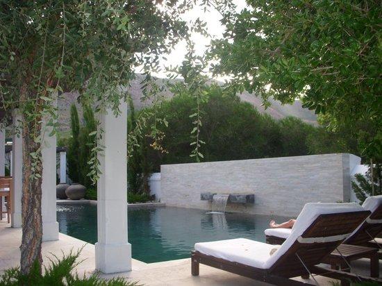 Steenberg Hotel: Der Poolbereich (mit sehr netter Bar)