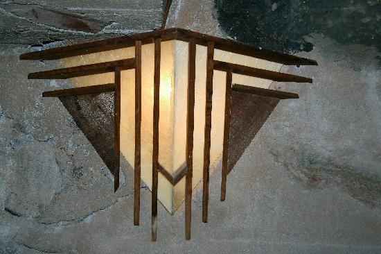 Taliesin West: Theater Wall Sconce