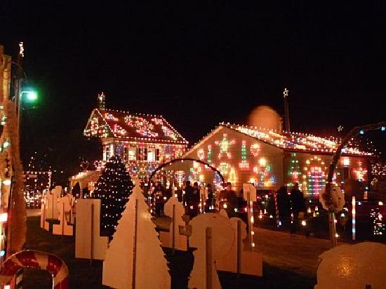 Picture Of Koziar's Christmas Village, Bernville