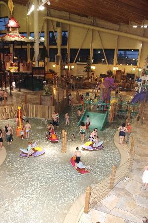 Great Wolf Lodge: kiddie pool area