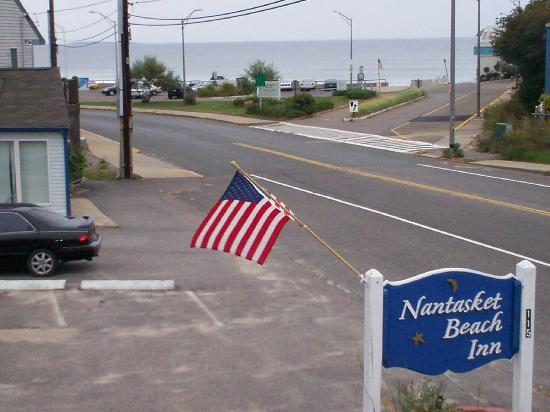 Nantasket Hotel at the Beach: The view from my doorway.
