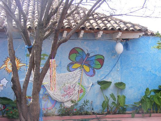 Posada Atrapasuenos : Decoración de las paredes