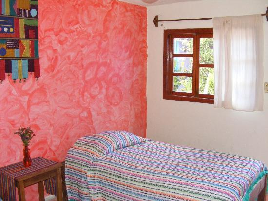 Posada Atrapasuenos : habitación que da al patio