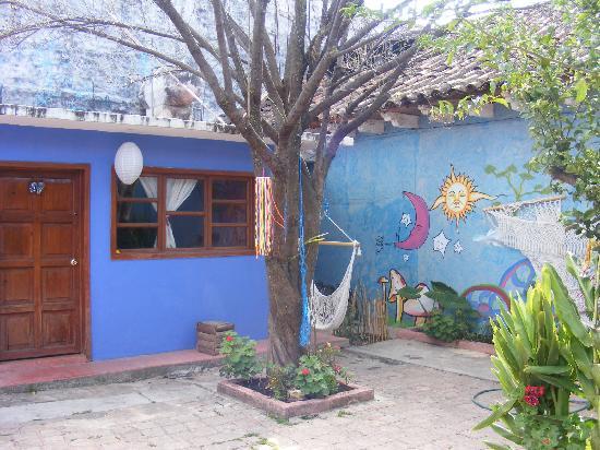 Posada Atrapasuenos : jardín