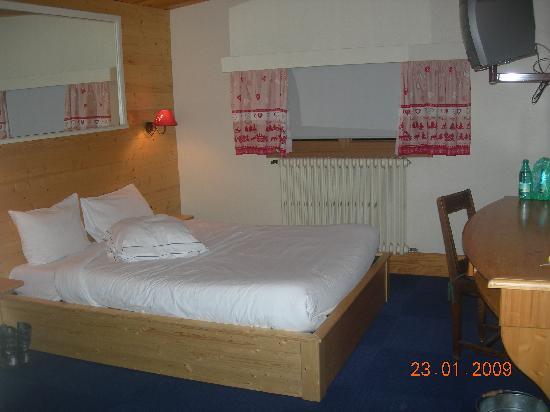 Chalet Hotel Le Collet : notre chambre