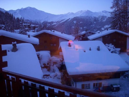 Hotel Les 4 Vallees: View from the room