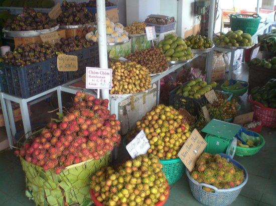 Ho Chi Minh City, Vietnam: fruits