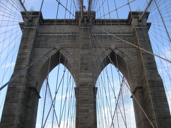 Бруклин, Нью-Йорк: NYC - Brooklyn Bridge