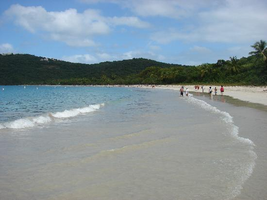 Magens Bay: From the very far end of the beach.