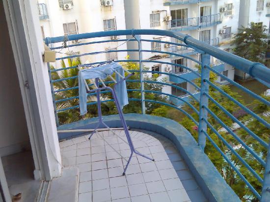 P.D. World Marina Resort: view frm balcony