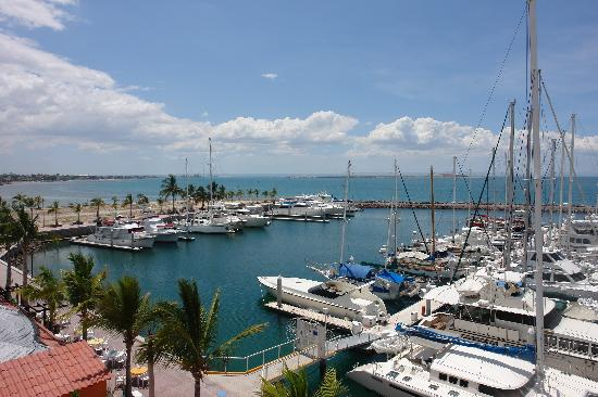 view from Hotel Marina