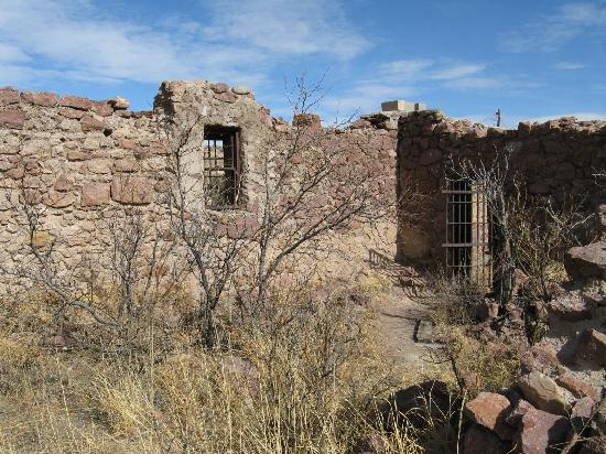 ruin of jail Hillsboro NM