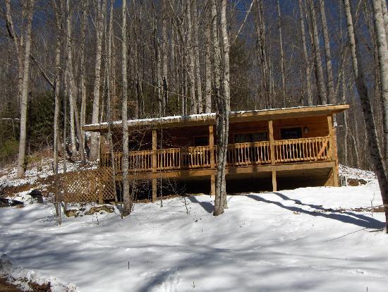 Dancing Sun Cabins: Snowy Sundance