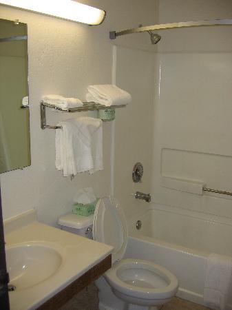 Super 8 Richmond/Chamberlayne Rd: Bathroom