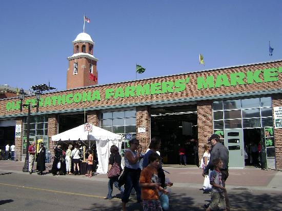 Whyte Avenue : The Old Strathcona Farmer's Market