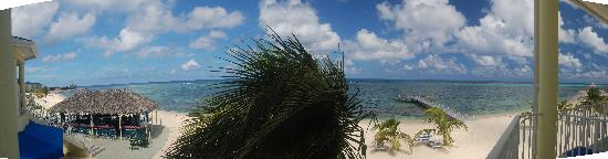 Wyndham Reef Resort: View from our balcony