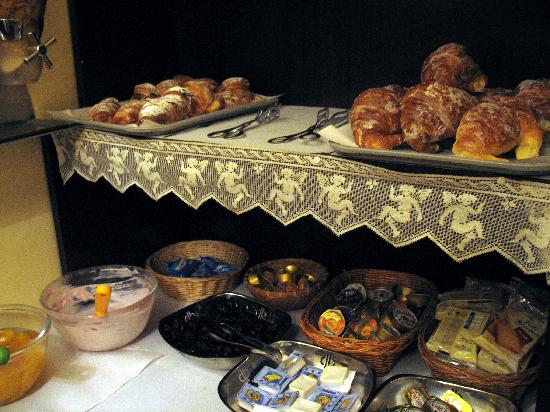 Hotel Del Corso: Breakfast selection