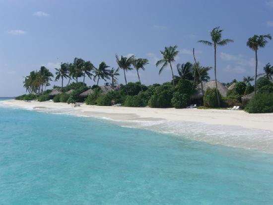 The Sun Siyam Iru Fushi Maldives: la plage