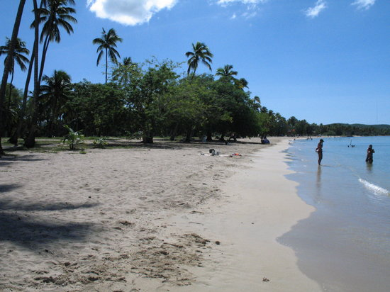 Mayagüez, Puerto Rico: Beach in Mayaguez..not bad but off season for the island in October