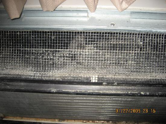Wingate by Wyndham Mooresville: mold in heater